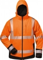 Warnschutz-Winter Softshell orange